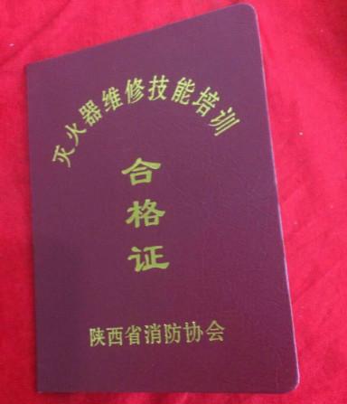 bob综合app官网登录维修年检合格证书